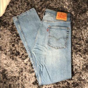 Levi's jeans men's 513 straight fit W33 L32